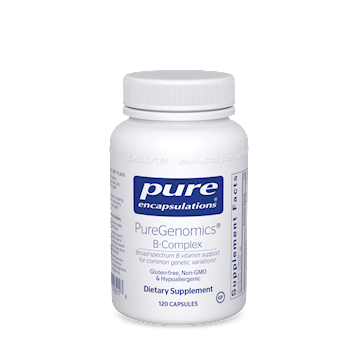 Pure Encapsulations PureGenomics B-Complex 120 caps