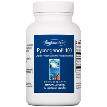 Pycnogenol 100 30 vegcaps	Allergy Research Group