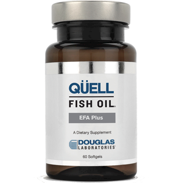 Douglas Laboratories QUELL Fish Oil EFA Plus 60 softgels
