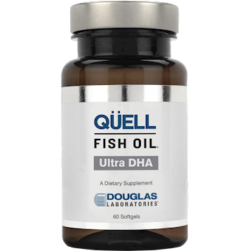 Q:uell Fish Oil : 8 High DHA 60 softgels