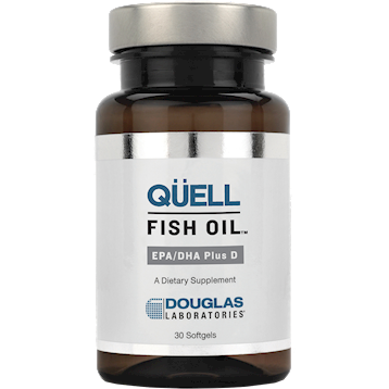 Quell Fish Oil : EPA/DHA Plus D 30 gels Douglas Labs