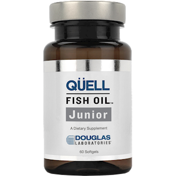 Douglas Labs QUELL Fish Oil Junior 60 gels