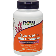 Now Foods Quercetin with Bromelain 120 vcaps