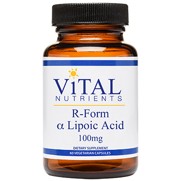 R-Form Lipoic Acid 100 mg 60 caps