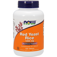 NOW Red Yeast Rice 1200 mg 120 Tabs