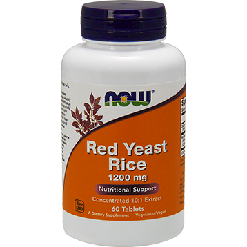 Red Yeast Rice 1200 mg 60 tabs