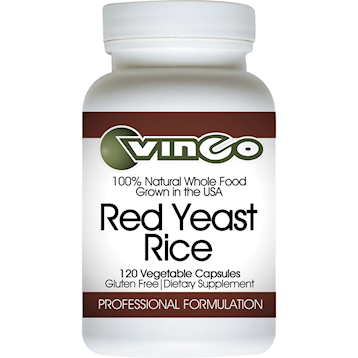 Vinco Red Yeast Rice (Rx) 600 mg 120 vcaps
