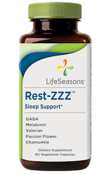 LifeSeasons Rest-ZZZ 60 vegcaps