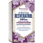 Reserveage Resveratrol with Ptero 500mg 60vcaps