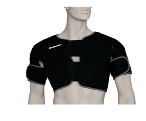 Double Shoulder Ice Compression and Hypothermia Wrap (Medium)