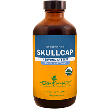Skullcap 8 oz Herb Pharm