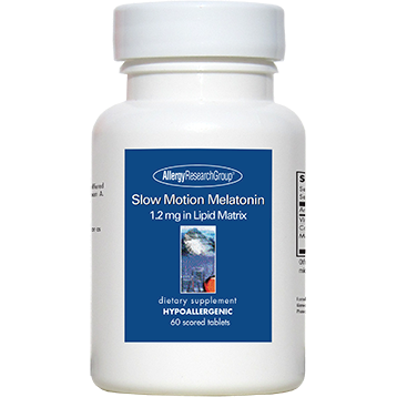 Allergy Research Group Slow Motion Melatonin 1.2mg 60 tabs