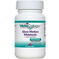 Nutricology Slow Motion Melatonin 60 tabs
