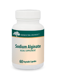 Sodium Alginate 400 mg 60 vcaps