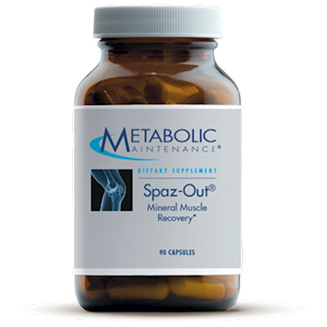Spaz Out 90 caps Metabolic Maintenance