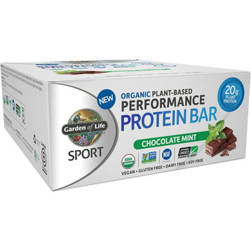 Sport Bar Chocolate Mint 12 Bars Garden of Life Sport