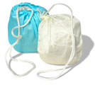Replacement pouch for Crystal Ball in clear poly bag with grommet for hanging. Rainshowr