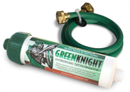 Green Knight Hydroponic Dechlorinator. Includes a 3 ft custom hose saver. Rainshowr