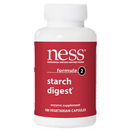 Ness Enzymes Starch Digest #2 180 caps