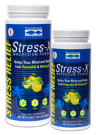 Stress-X Magnesium Powder Lemon-Lime 17.6oz Trace Minerals Research