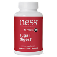Ness Enzymes Sugar Digest #21 180 caps