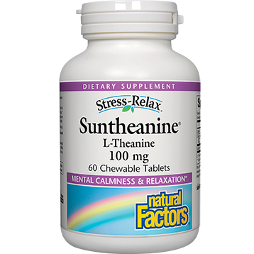 Natural Factors Suntheanine L-Theanine 60 tabs