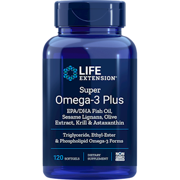 Super Omega with Krill 120 gels Life Extension