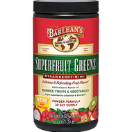 Barlean's Organic Oils Superfruit Greens Straw-Kiwi 9.52 oz