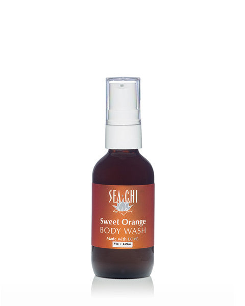 Sweet Orange Body Wash 240ml / 8oz