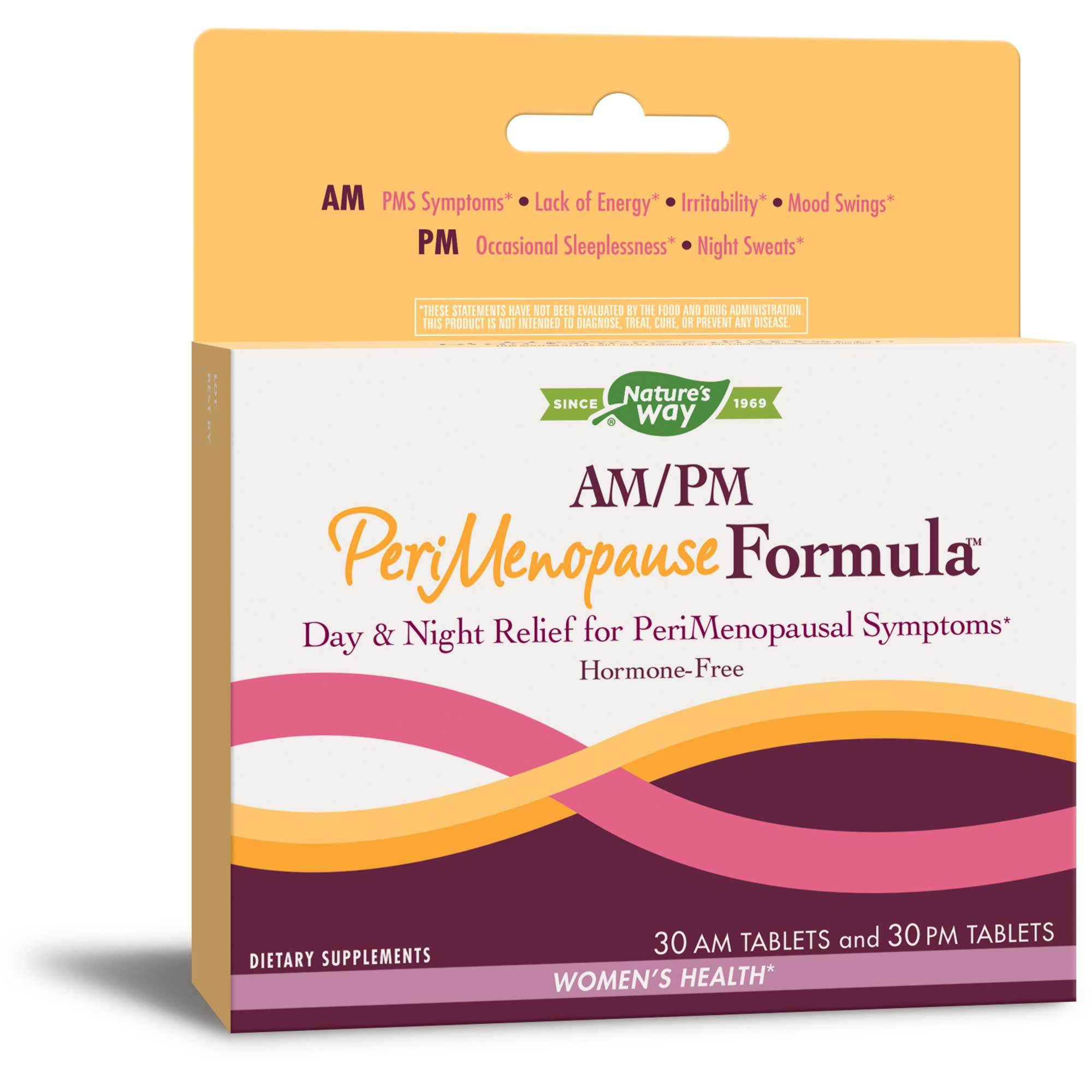 Therapy AM/PM PeriMenopause Formula 60 tabs Enzymatic Therapy