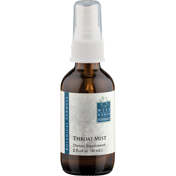Wise Woman Herbals Throat Mist 2 oz