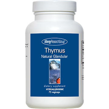 Allergy Research Group Thymus 1000 mg 75 caps
