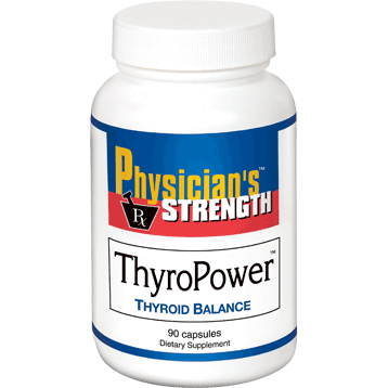 Physician's Strength ThyroPower 90 caps