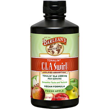 Barlean's Organic Oils Tonalin CLA Fresh Apple Swirl 16 oz