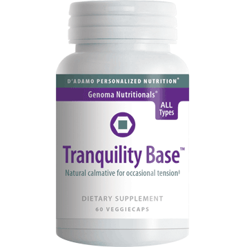 Tranquility Base 60 vcaps		D'Adamo Personalized Nutrition