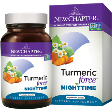Turmeric Force Nighttime 60 vegcaps New Chapter