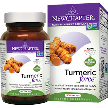 New Chapter Turmericforce 60 softgels
