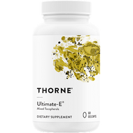 Thorne Research Ultimate-E (1,000mg Mixed Tocopherols) 60gc