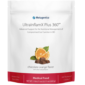 Metagenics UltraInflamX Plus 360o ChocolateOrange 14 servings