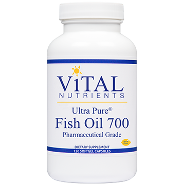 Ultra Pure Fish Oil 700 120 gels