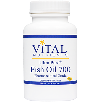 Vital Nutrients Ultra Pure Fish Oil 700 60 gels