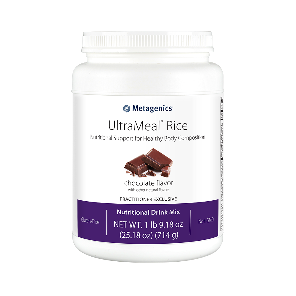 Metagenics Ultrameal Rice Vanilla 14 Servings