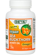Vegan Sea Buckthorn Oil 90 vcaps Deva Nutrition