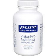 VisonPro Nutrients without zinc 90 caps Pure Encapsulations