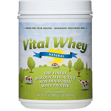 Vital Whey Natural (21oz) Well Wisdom Proteins