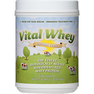 Vital Whey Natural Vanilla Flavor 21oz Well Wisdom Proteins
