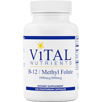 Vitamin B12 w/Folate 100 caps