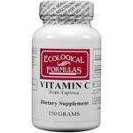 Ecological Formulas Vitamin C from Tapioca 150 gms