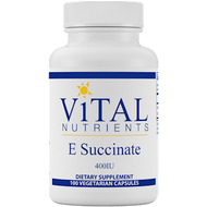Vital Nutrients Vitamin E Succinate 400 IU 100 vcaps