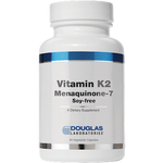 Vitamin K2 with Menaquinone-7 60 vcaps Douglas Labs